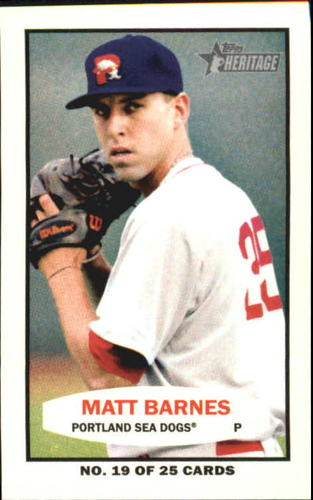 Photo of 2013 Topps Heritage Minors 1964 Bazooka #MB Matt Barnes