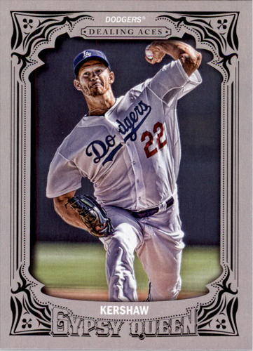 Photo of 2014 Topps Gypsy Queen Dealing Aces #DACK Clayton Kershaw
