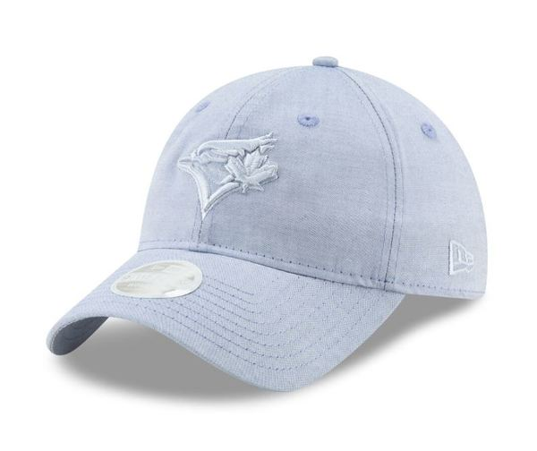 Toronto Blue Jays Women's Crisp Pick Royal Adjustable Cap by New Era