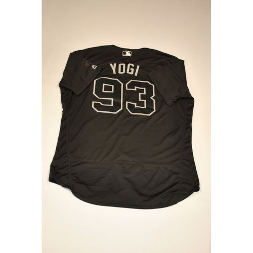 "Photo of Joel ""YOGI"" Polanco Baltimore Orioles Game-Used 2019 Players' Weekend Jersey"