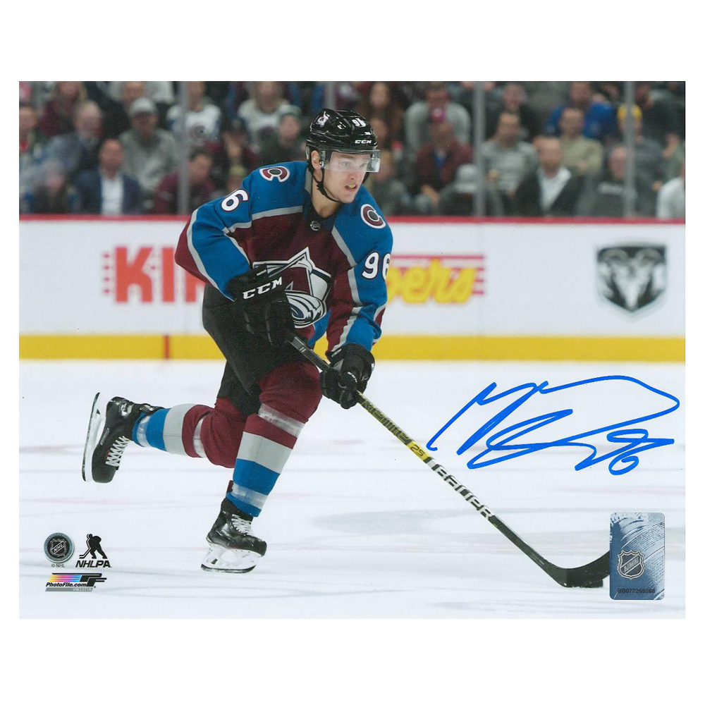 MIKKO RANTANEN Signed Colorado Avalanche 8 X 10 Photo - 70454 A