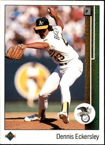 Photo of 1989 Upper Deck #664 Dennis Eckersley/ALCS MVP
