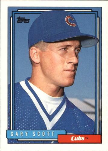 Photo of 1992 Topps Traded #102T Gary Scott