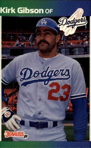 Photo of 1989 Donruss #132 Kirk Gibson