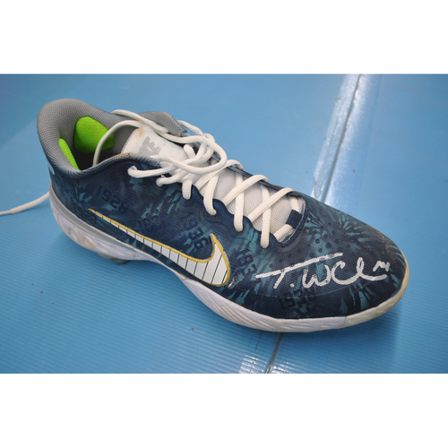 Photo of More than Baseball: Game-Used and Autographed Cleats - New York Mets at New York Yankees - 8/28/20 - Tyler Wade