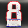 NFL - Texans Laremy Tunsil Signed Jersey Number