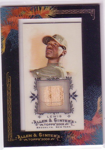 Photo of 2009 Topps Allen and Ginter Relics #FL Fred Lewis Bat C
