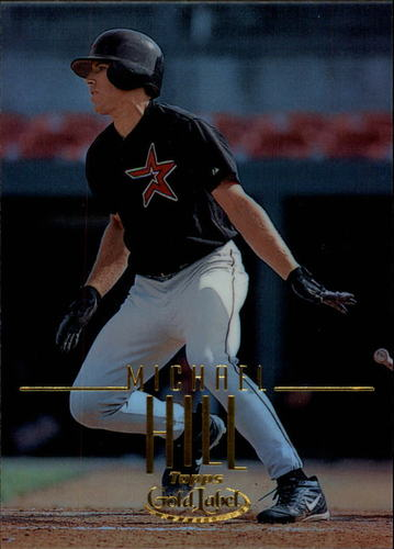 Photo of 2002 Topps Gold Label #89 Michael Hill RC