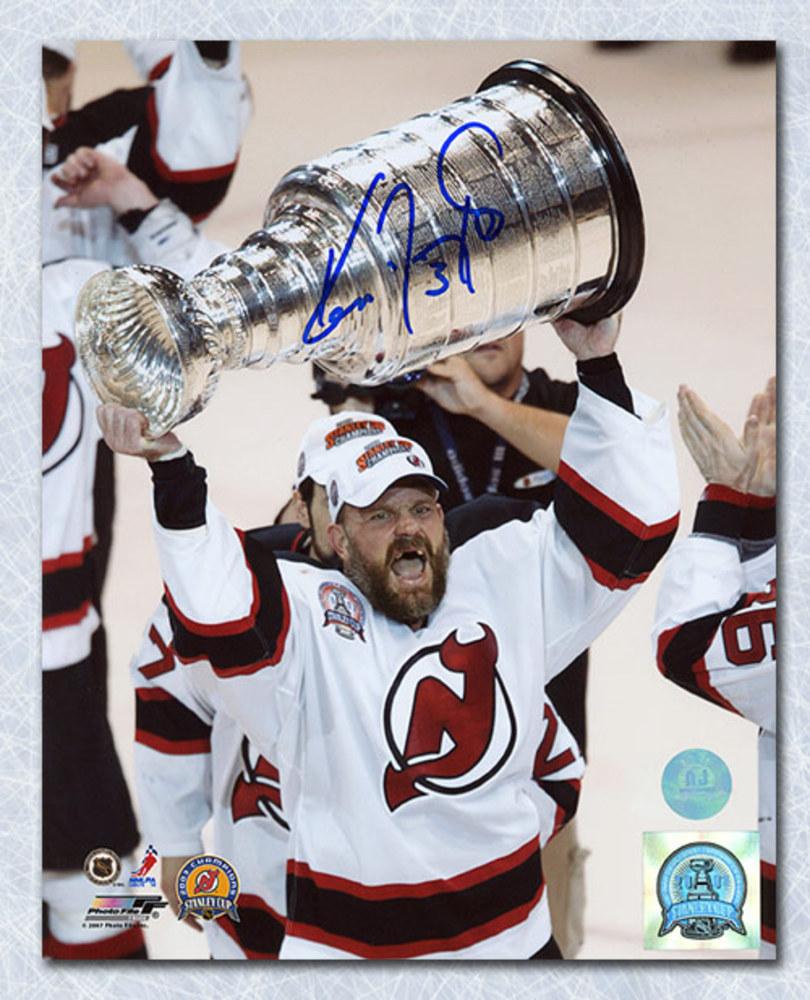 Ken Daneyko New Jersey Devils Autographed Stanley Cup 8x10 Photo