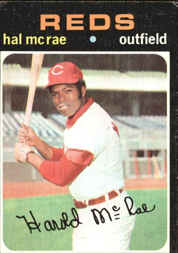 Photo of 1971 Topps #177 Hal McRae