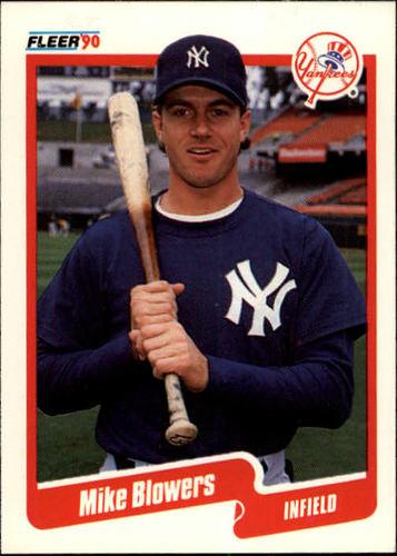 Photo of 1990 Fleer #438 Mike Blowers RC