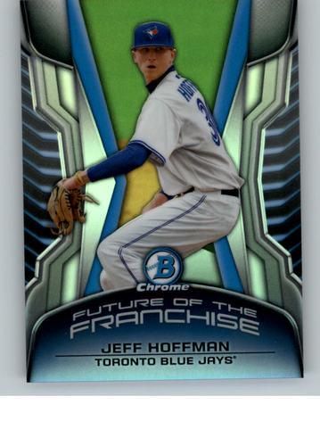 Photo of 2014 Bowman Chrome Draft Future of the Franchise Mini Jeff Hoffman