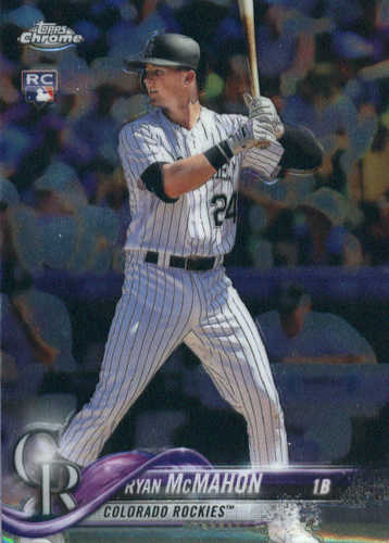 Photo of 2018 Topps Chrome #21 Ryan McMahon RC