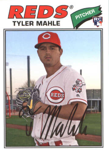 Photo of 2018 Topps Archives #193 Tyler Mahle RC