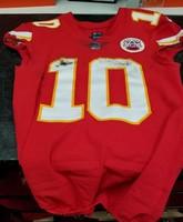 7e13df1ca91 STS - Tyreek Hill GAME WORN Chiefs jersey 11/11/18