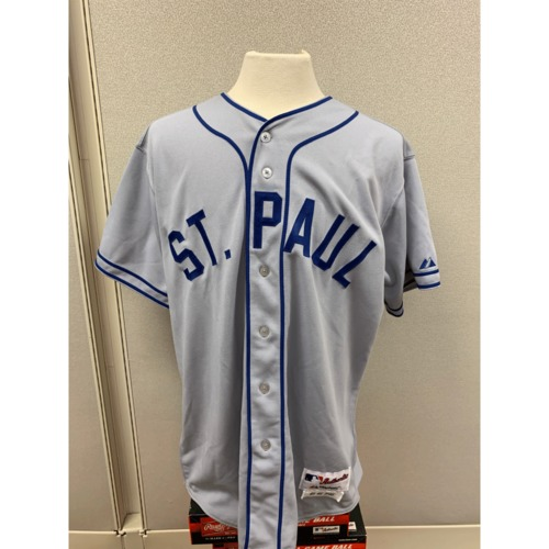 Photo of Minnesota Twins Throwback 1948 St. Paul Saints Team Signed Jersey