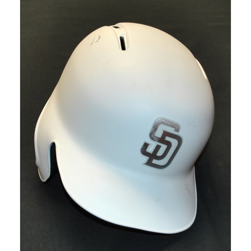 "Photo of Josh ""Naylz"" Naylor San Diego Padres Game-Used 2019 Players' Weekend Helmet"