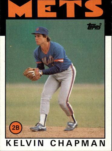 Photo of 1986 Topps #492 Kelvin Chapman