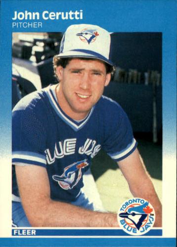 Photo of 1987 Fleer #222 John Cerutti