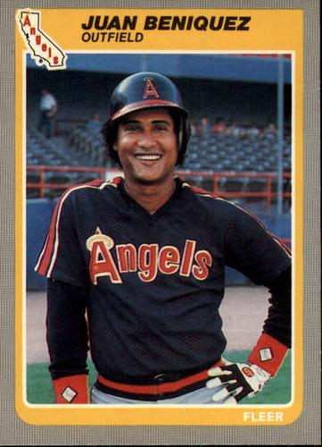 Photo of 1985 Fleer #294 Juan Beniquez