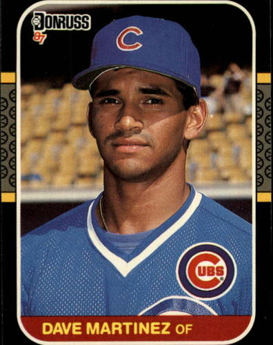 Photo of 1987 Donruss #488 Dave Martinez RC