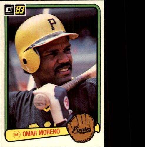 Photo of 1983 Donruss #347 Omar Moreno