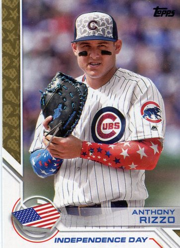 Photo of 2017 Topps Independence Day #ID14 Anthony Rizzo