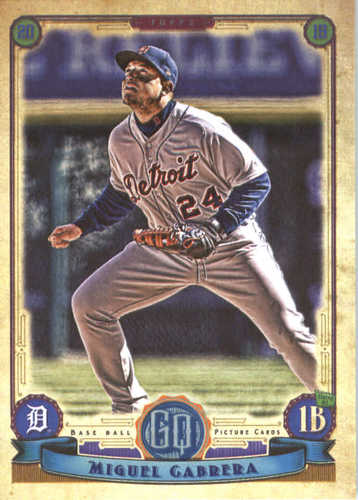 Photo of 2019 Topps Gypsy Queen #66 Miguel Cabrera
