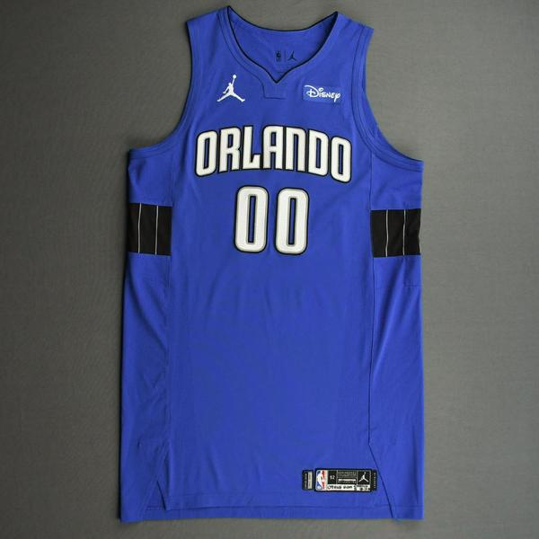 Image of Aaron Gordon - Orlando Magic - Kia NBA Tip-Off 2020 - Game-Worn Statement Jersey - Scored 20 Points