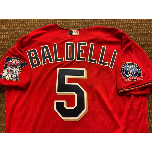 Photo of Rocco Baldelli Team-Issued Jersey