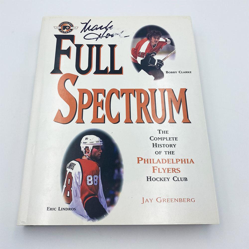 Mark Howe Autographed Full Spectrum Hardcover Book