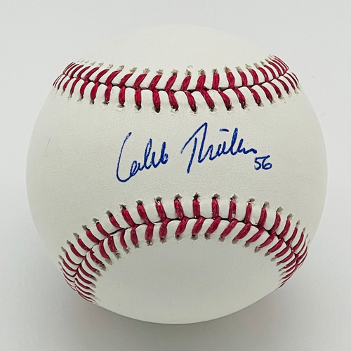 Photo of Minnesota Twins Autographed Baseball - Caleb Thielbar