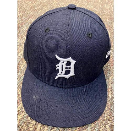 Photo of Casey Mize Detroit Tigers Game-Used Home Cap (MLB AUTHENTICATED)