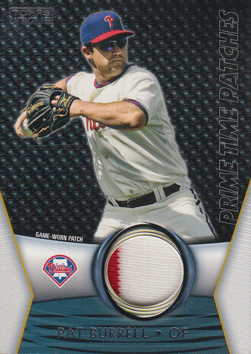 Photo of 2009 Topps Unique Primetime Patches #PTP54 Pat Burrell/99