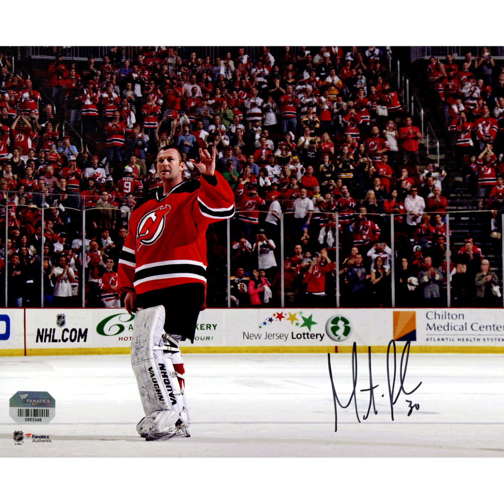 Martin Brodeur New Jersey Devils Autographed 8
