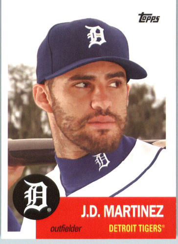 Photo of 2016 Topps Archives #42 J.D. Martinez -- D'backs post-season