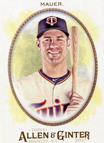 Photo of 2017 Topps Allen and Ginter #334 Joe Mauer