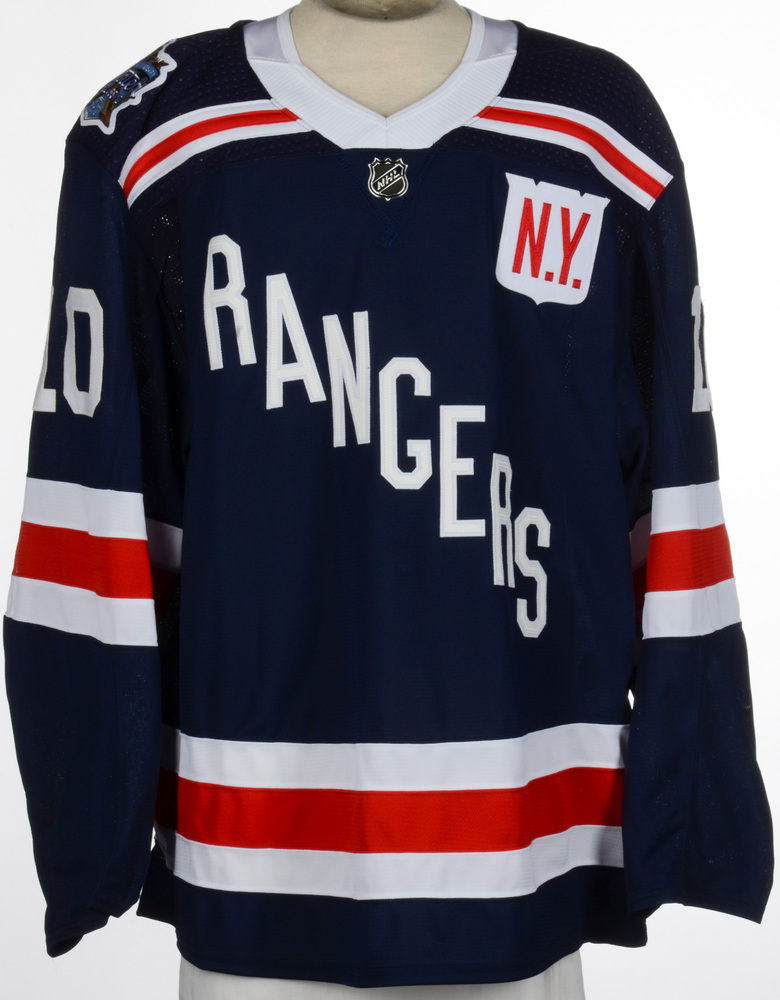 J.T. Miller New York Rangers Game-Worn 2018 NHL Winter Classic Jersey - Assist  Recorded In This Jersey 6a0ab7c31