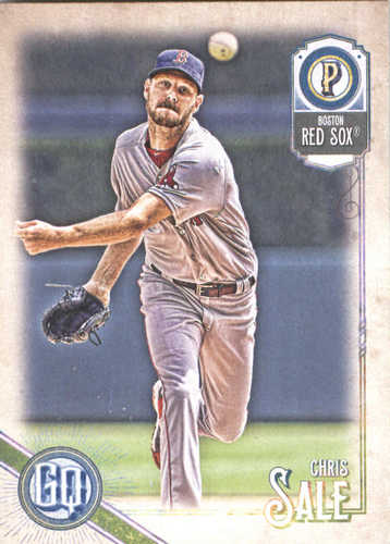 Photo of 2018 Topps Gypsy Queen #100 Chris Sale