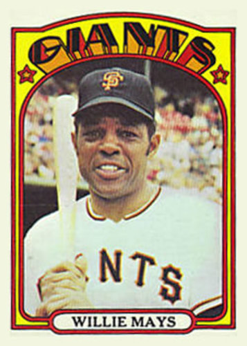Photo of 1972 Topps #49 Willie Mays