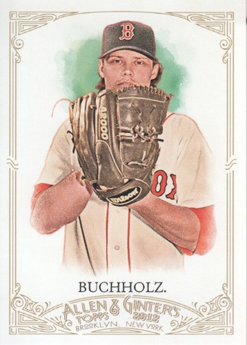 Photo of 2012 Topps Allen and Ginter #50 Clay Buchholz