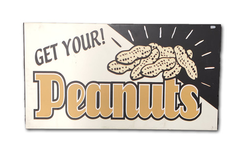 Photo of Wrigley Field Collection -- Concourse Sign - 'Get Your Peanuts'