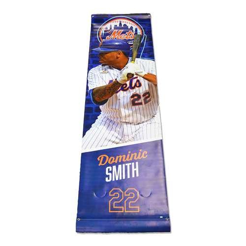 Photo of Dominic Smith #22 - Citi Field Banner - 2018 Season