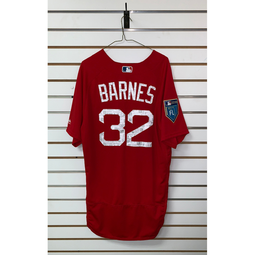 Photo of Matt Barnes team issued 2018 Spring Training Jersey