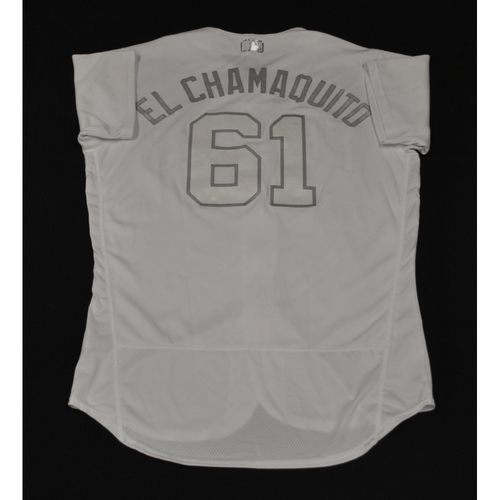 "Photo of Luis ""El Chamaquito"" Perdomo San Diego Padres Game-Used 2019 Players' Weekend Jersey"