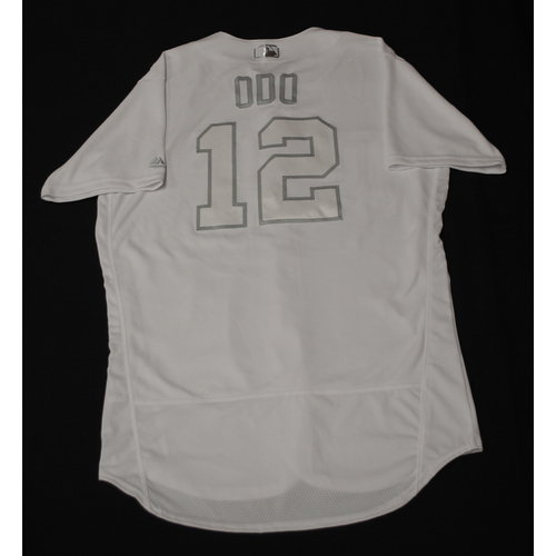 "Photo of Jake ""Odo"" Odorizzi Minnesota Twins Team-Issued 2019 Players' Weekend Jersey"