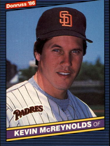 Photo of 1986 Donruss #80 Kevin McReynolds