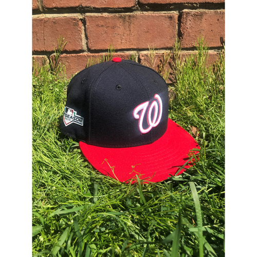Photo of Brian Dozier Game-Used Cap Worn 2019 NLCS