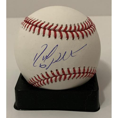 Photo of David Peralta Autographed Baseball