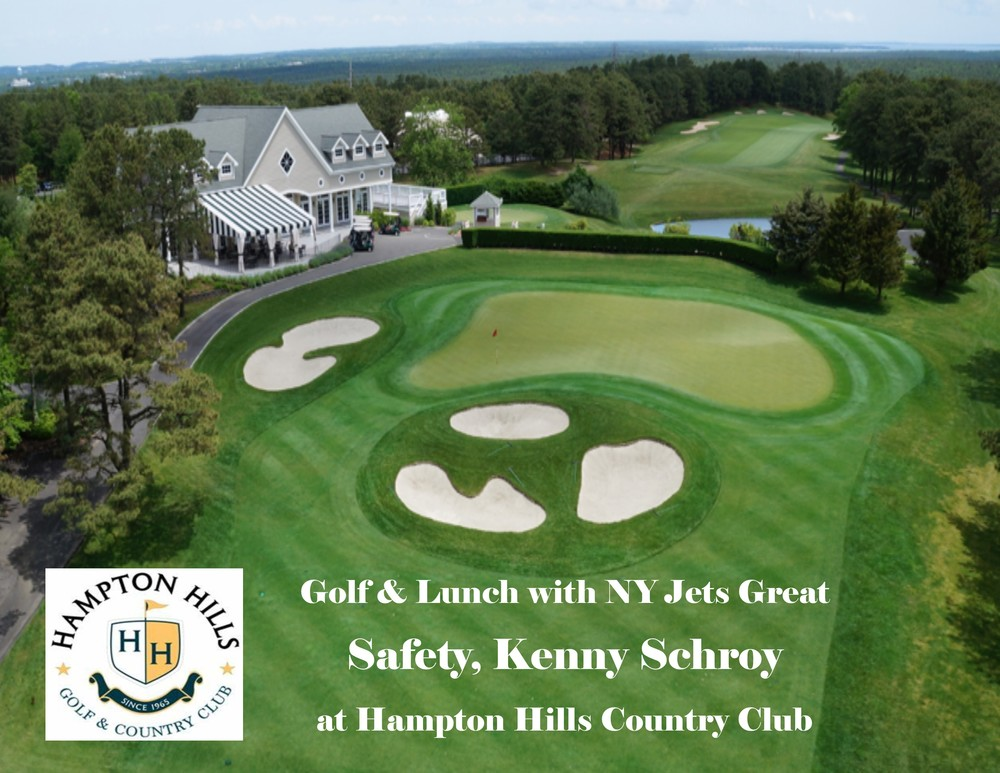 PCC - Round of Golf & Lunch with NY Jets Legend Kenny Schroy (benefitting the Marty Lyons Foundation)